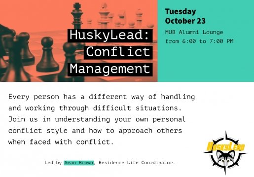 Conflict Mgt HuskyLead