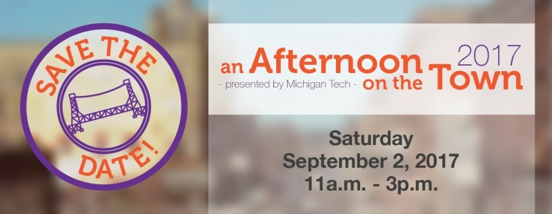 Save the date information for Afternoon on the Town