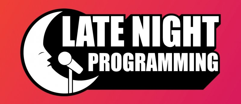 Late Night Programming logo.