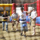 bungee soccer