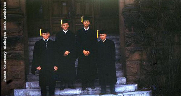 Physics grads from 1950!