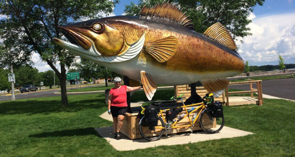 big fish in Garrison