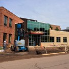 New Welcome Center Construction