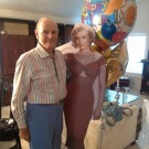 90th Birthday Alum with Marilyn