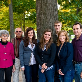 With four generations graduating from Michigan Tech, the Harris clan's connection with the University began in the 1930's.