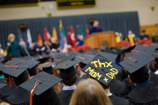 Hundreds celebrated as they take their next steps as Michigan Tech Alumni.