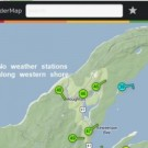 weather station map