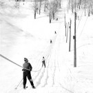 Old school skiing