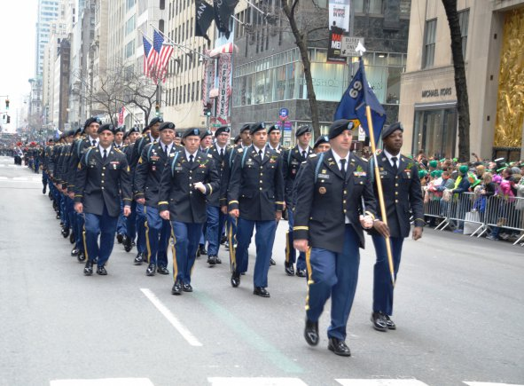 Last Week At The Conclusion Of St Patricks Day Parade In New York Command NYC 1st Battalion 69th Infantry Was Officially Turned Over To Lt Col