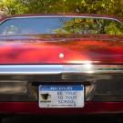 Alum license plate