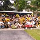 Northwest Michigan Alumni in the Cherry Fest Parade