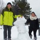 Snowmanleftbehind