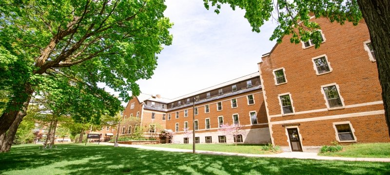 residence hall on Michigan Tech's campus