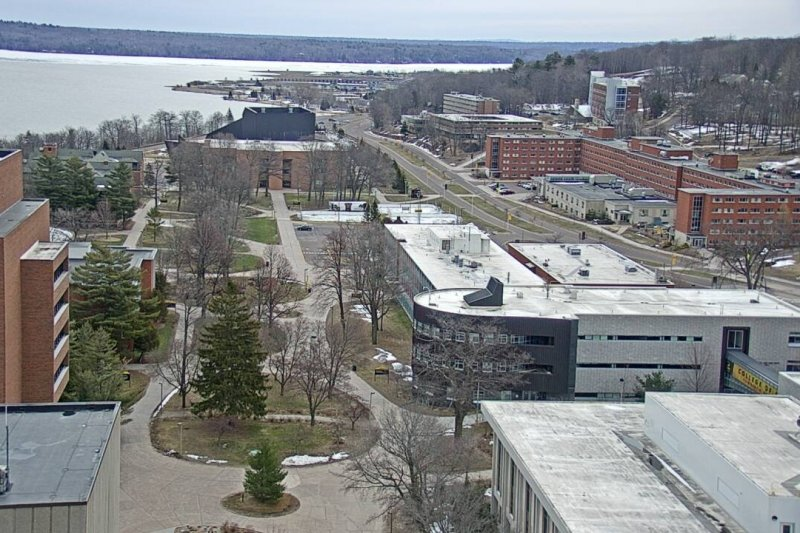 Webcam view of campus