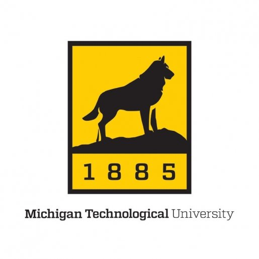 "A large version of the Michigan Tech logo with ""Michigan Technological University"" written below"