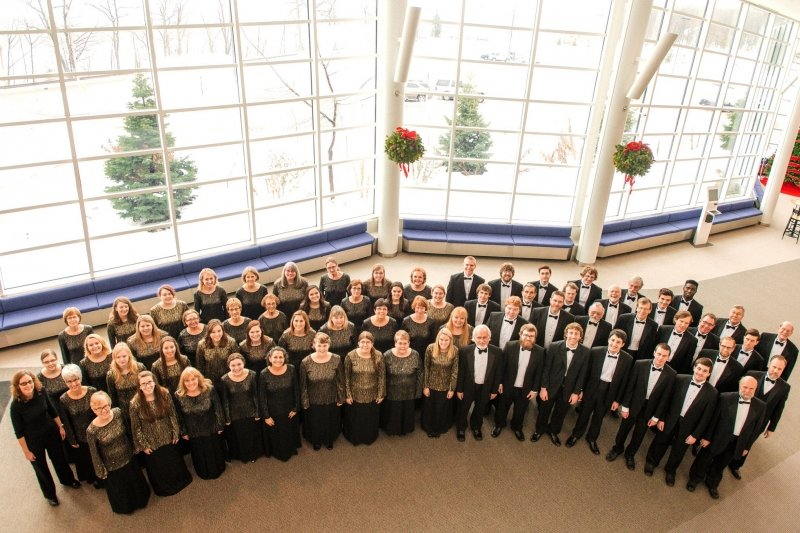 Choir in the Lobby of the Rozsa