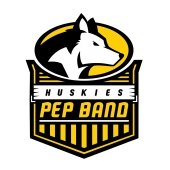 Huskies Pep Band Logo